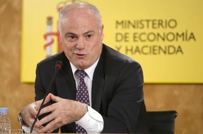 El secretario de Estado de Economía, José Manuel Campa, en una rueda de prensa en el Ministerio.