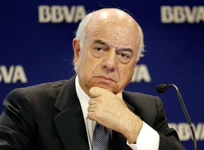 El presidente del BBVA, en una fotografía del pasado 27 de enero, en la presentación ante los analistas de los resultados de la entidad correspondientes al 2009.