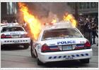 Violentos enfrentamientos en Toronto entre manifestantes y policías