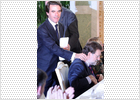 La empresa de Aznar logra beneficios récord en el peor año de la crisis