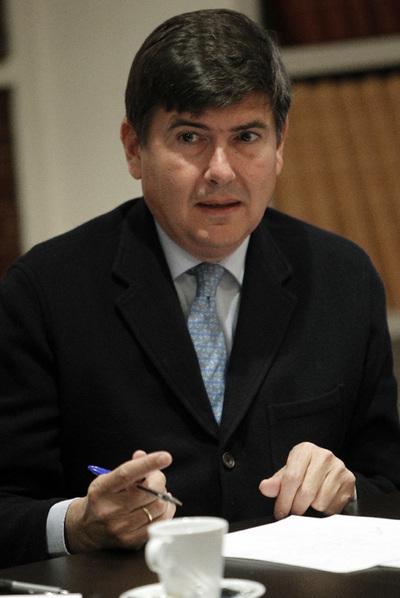 Manuel Pimentel, en una imagen del pasado diciembre.