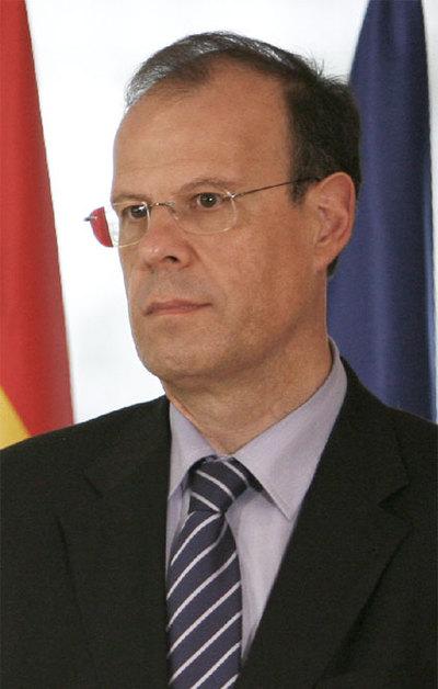 El ex director general de Caixanova , José Luis Pego, en una imagen de archivo.