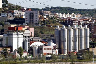 Fábrica de Damm en Santa Coloma de Gramanet (Barcelona).