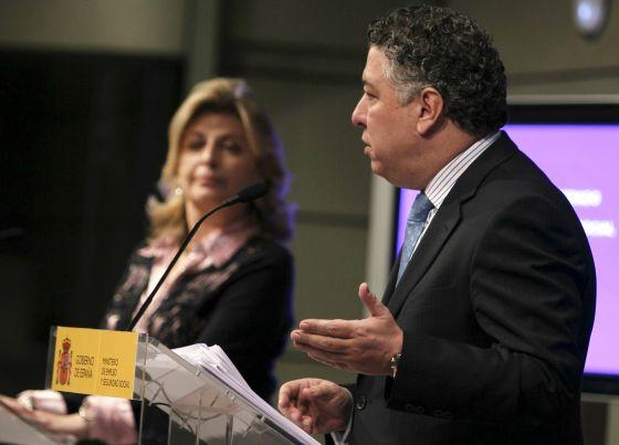 El secretario de Estado de la Seguridad Social, Tomás Burgos, en una comparecencia en el Ministerio de Empleo.