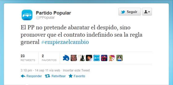 """Rajoy, en campaña: """"El PP no pretende abaratar el despido"""""""