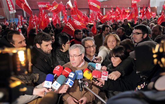 El secretario general de CC OO, Ignacio Fernández Toxo.rn rn rn rn rn rn rn rn I