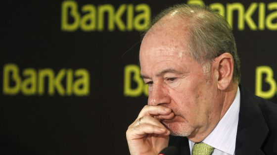 El presidente de BFA-Bankia, Rodrigo Rato.