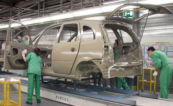 Planta de montaje de Opel en Figueruelas, Zaragoza.