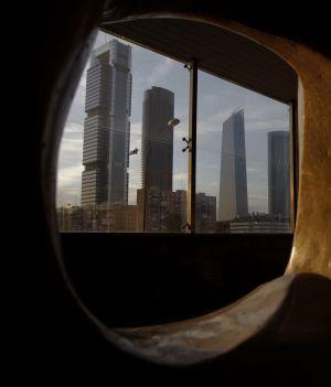 Vista de 'las cuatro torres' de Madrid