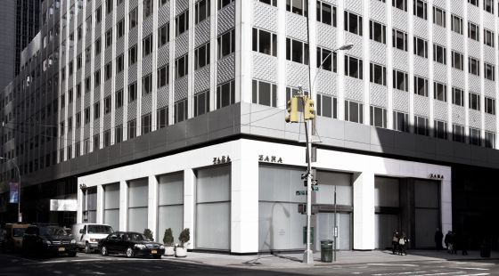 Fachada de la nueva tienda de Zara en la Quinta Avenida.