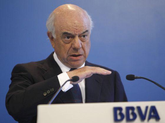 El presidente del BBVA, Francisco Gonzalez.