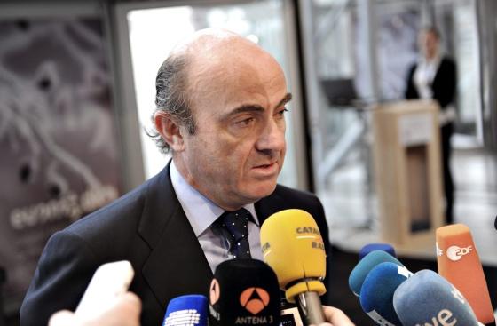 El ministro español de Economía, Luis de Guindos.