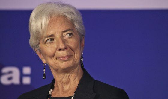 En la imagen, la directora gerente del Fondo Monetario Internacional, Christine Lagarde.