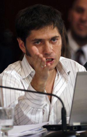 El viceministro de Economía de Argentina, Axel Kicillof.