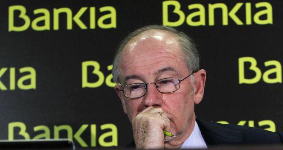 El hasta ahora presidente de Bankia, Rodrigo Rato.