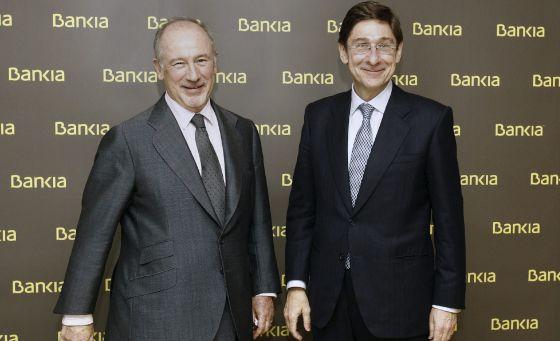José Ignacio Goirigolzarri sustituye a Rodrigo Rato en Bankia.