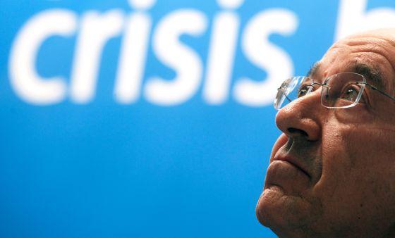 El gobernador del Banco de España, Miguel Fernández Ordóñez, el pasado diciembre.