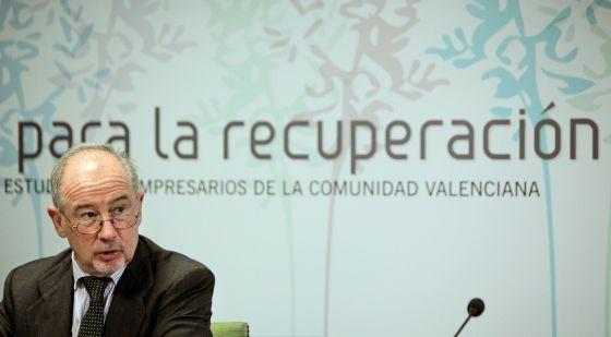 Rato considera el plan de bankia una inyecci n brutal a for Bankia cajero mas cercano