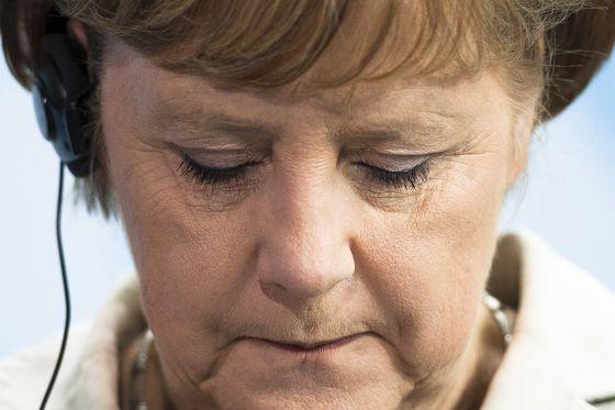 Angela Merkel en una conferencia de prensa el pasado 8 de junio.