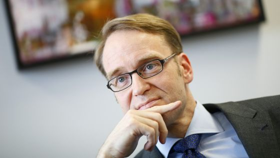 Jens Weidmann, presidente del Bundesbank  KAI PFAFFENBACH (REUTERS)