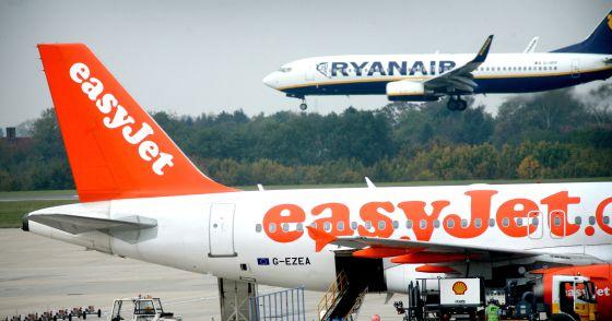 Un avión de Easyjet