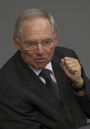 El ministro de Hacienda alemán, Wolfgang Schäuble