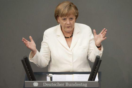 La canciller alemana Angela Merkel.
