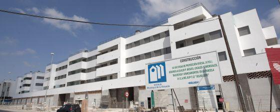 Una promoción de VPO de alquiler, en Málaga.