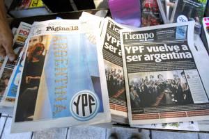Varios periódicos de tirada nacional en Argentina. EFEArchivo