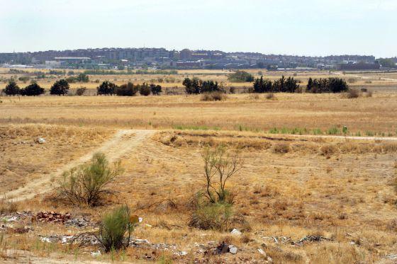 Terrenos de Alcorcón (Madrid), una de las posibles ubicaciones de Eurovegas