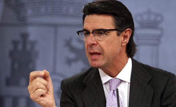 El ministro de Energía, José Manuel Soria.