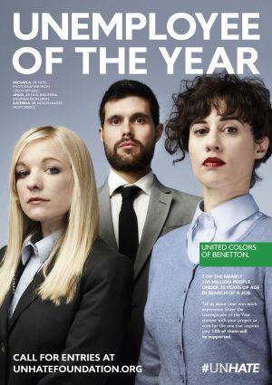 Una imagen de la campaña de Benetton,