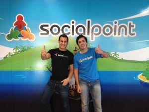 Horacio Martos y Andrés Bou, fundador de Social Point
