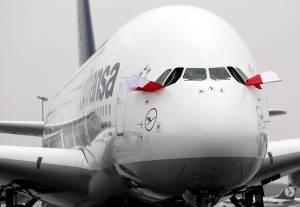 Imagen de un avión de pasajeros Airbus A380. EFEArchivo