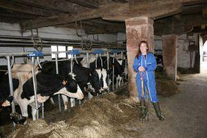 La abogada Miren Belate tiene una explotación de 40 hectáreas en Navarra.