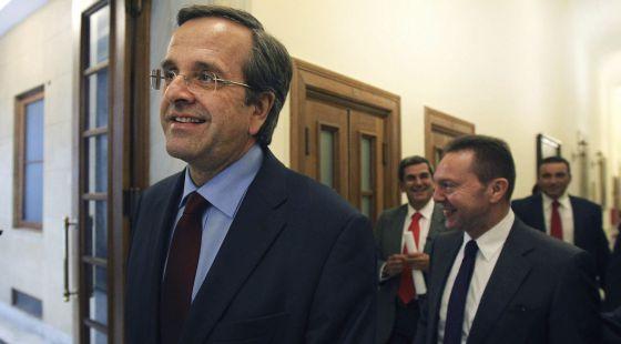 El primer ministro griego, Andonis Samaras.