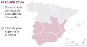 El paro en España supera el 25% por primera vez en la historia