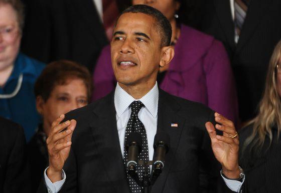 La economía centró el primer discurso de Obama tras las elecciones