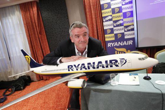 Michael O´Leary, presidente de la compañía aérea Ryanair.