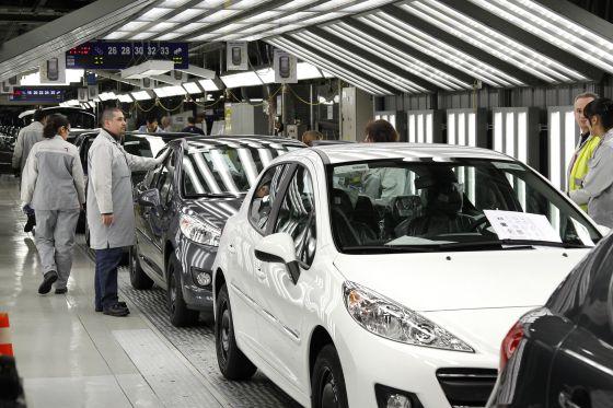 Factoría de Peugeot Citroen en Poissy