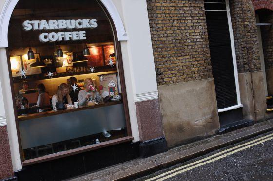 Un establecimiento de Starbucks en Londres.
