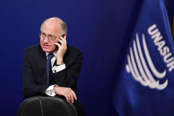 El ministro argentino de Exteriores, Héctor Timerman.