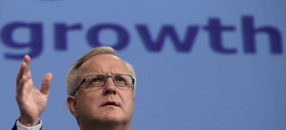 El vicepresidente económico de la Comisión Europea, Olli Rehn.