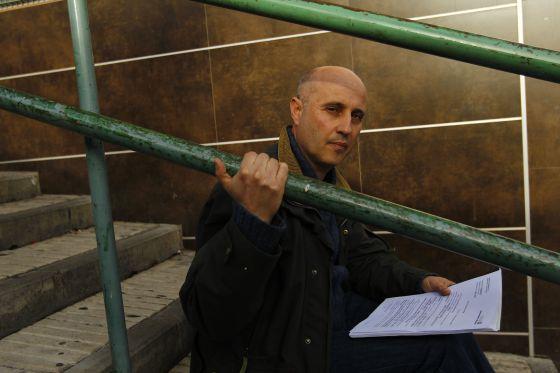 Manuel, ex guarda de seguridad de ESABE, estuvo seis meses sin cobrar.