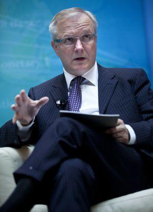 Olli Rehn, comisario europeo de Asuntos Económicos y Monetarios