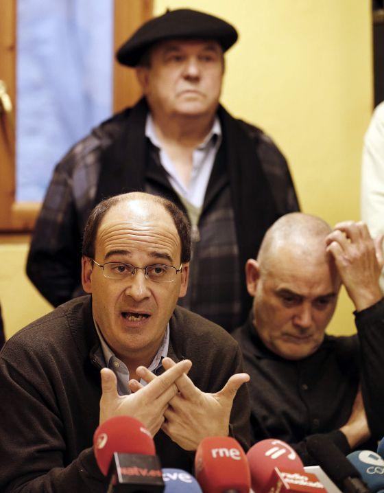 Patxi Zamora, portavoz de Kontuz, anunció en diciembre que se personaban como acusación popular en la denuncia contra Santiago Cervera.