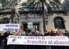 Miles de afectados por las preferentes protestan en la calle
