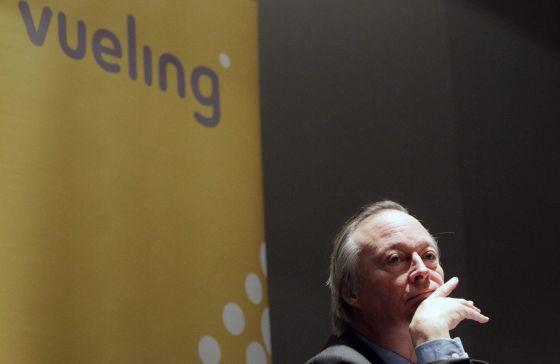 El presidente de la aerolínea Vueling, Josep Piqué