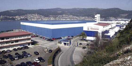 Sede central de Pescanova en Redondela.