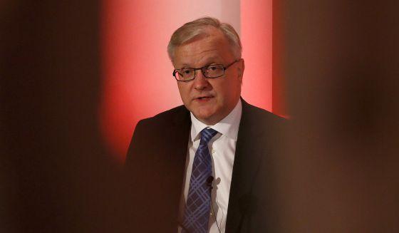 Olli Rehn, el vicepresidente de Asuntos Económicos de la Comisión Europea